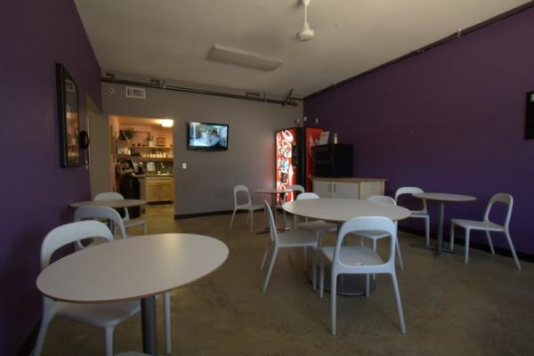 Break Room & Lounge Area